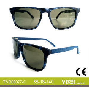 Handmade Glasses Sun with Acetate (77-C) pictures & photos