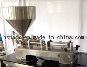 Single Nozzle Paste Filling Machine Filler (G1WG500) pictures & photos