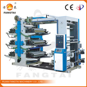 Flexo Printing Machine Six Color 600-1000mm pictures & photos