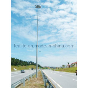 Galvanized Steel Pole High Mast Tower Lighting Pole pictures & photos