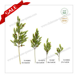 Hot Sell Craft Green Pine Branches for Indoors for Home Garden pictures & photos