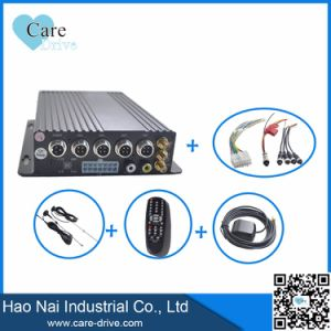 4-CH HD Vehicle Mobile Digital Video Recorder with Two SD Cards Built-in 3G, GPS Modules pictures & photos