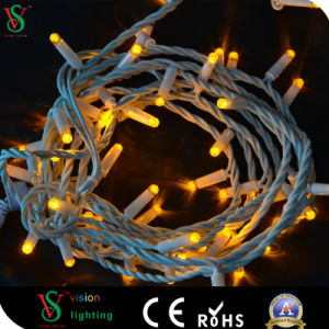 100 LEDs 50m Warm White, Remote Control Outdoor String Lights pictures & photos