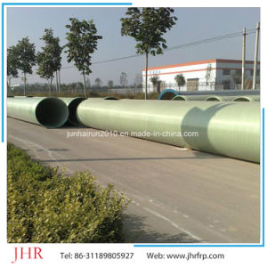 FRP Round Sewage Pipe GRP Pipe Plastic pictures & photos
