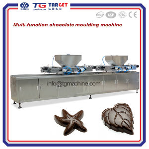 Hot Sale Semi Automatic Chocolate Moulding Line pictures & photos