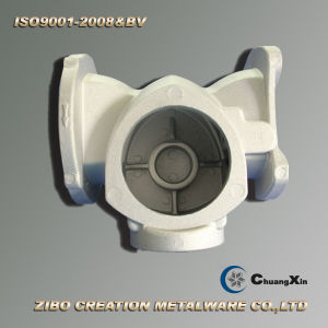 Gravity Die Casting Process Aluminum Pump Cover pictures & photos