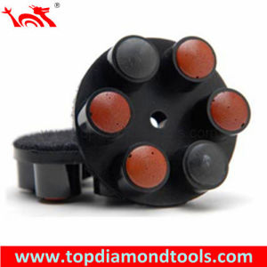 Hybrid Bond Diamond Bullet Polishing Pads pictures & photos