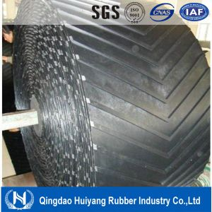 Polyester Chevron Pattern Rubber Conveyor Belt pictures & photos