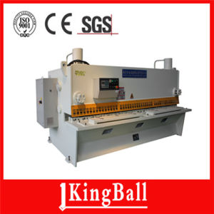 Hydraulic CNC Guillotine Shearing Machine (QC11y-12X6000 pictures & photos
