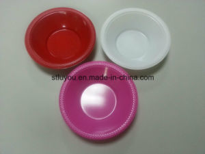 Disposable Tableware Plastic 355ml Colored Party Bowl