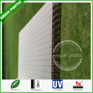 100% Virgin Plastic Building Material Four-Wall Honeycomb PC Polycarbonate Sheets pictures & photos