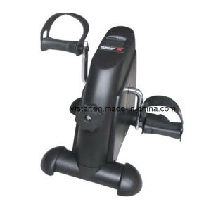 Home Use Electric Display Adjustable Resistance Exercise Mini Bike pictures & photos