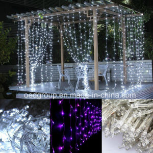 Christmas LED Waterfull Curtain Lights pictures & photos