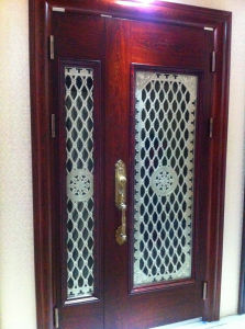 2 Pieces Elegant Interior Exterior American Panel Door pictures & photos