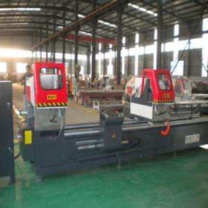 Aluminum Window Profile Double Head CNC Precision Cutting Machine pictures & photos