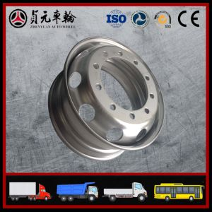 Truck Auto Parts of Steel Tubeless Wheel Rim pictures & photos