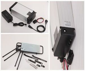 48V 15ah Rear Rack Lithium Battery Pack with 2A Charger pictures & photos