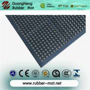 Anti Slip Drainage Rubber Floor Mat/Anti Fatigue Rubber Kitchen Mat pictures & photos