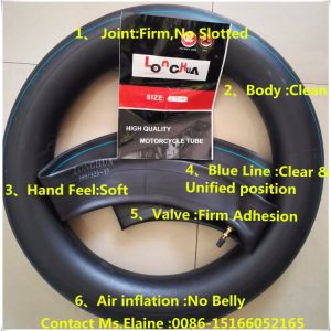 Factory Supplier ISO9001 Certificated Natural Butyl Motorcycle Inner Tube (300/3.25-18) pictures & photos
