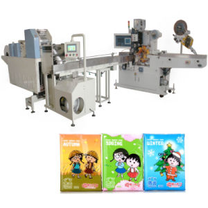 Tissue Folding Processing Pocket Paper Packing Machine pictures & photos