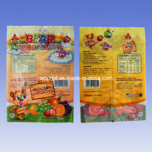 Composite Material, Marshmallows Backside Sealed Packaging Bag