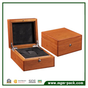 Customized Bamboo Packing Wooden Watch Box pictures & photos