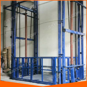 China Electric Vertical Cargo Lift for Lifting Goods and Warehouse pictures & photos