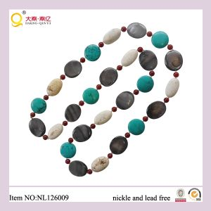Jewelry, Necklace, Shell Beads Necklacestone Necklace, Turquoise Beads Necklace, Gift, Christmas Gift, Birthday Gift, Mother′s Day Gifts pictures & photos