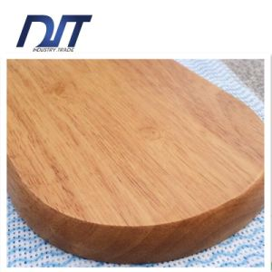 Creative Restaurant Natural Healthy Handmade Ellipse Wood Serving Plate pictures & photos