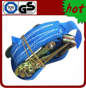 800kg X 6m Ratchet Tie Down with Double J Hook