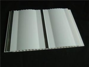 Decorative Two Waved PVC Wall Panels and PVC Ceiling Panel