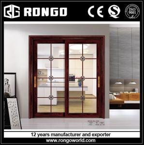 Aluminum Alloy Office Sliding Glass Door pictures & photos