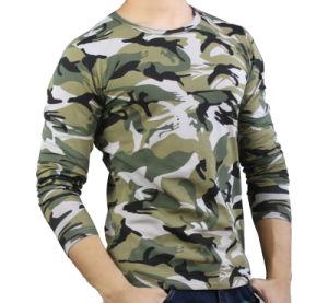 Wholesale Camo Long Sleeve Police T Shirt