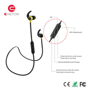 Mobile Phone Accessories Bluetooth Wireless Earphones with Mic pictures & photos