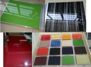 18mm Melamine MDF Panel Coated UV Board (zh-3919) pictures & photos