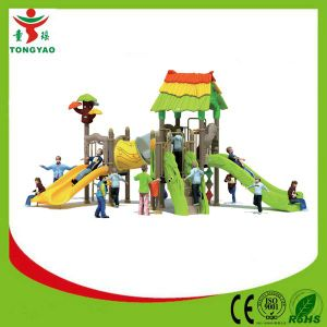 Hot Selling Outdoor Plastic Slide for Children pictures & photos