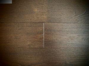 Antique Wire-Brush Finish Asian Teak Dark Flooring Sw-4397