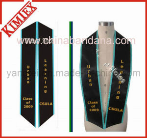 Satin Fabric Embroidery Graduation Sash Stole pictures & photos
