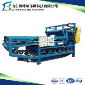 2017 Sewage Sludge Dewatering Machine, Belt Filter Press, Sludge Dehydration pictures & photos