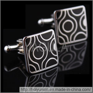 VAGULA Cufflink Silver Man Cuff Links (Hlk31707) pictures & photos