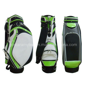 Duelxe PU Fashion Design of Golf Staff Bag (0909-9507) pictures & photos