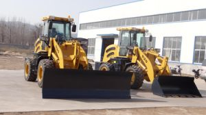 2.0ton Front End Wheel Loader with Straight Snow Blade pictures & photos