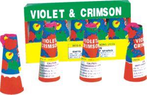 Violet & Crimson 1.4G Consumer Fireworks (0810A)