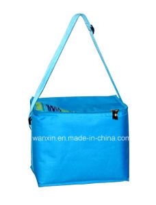 Personalized Nylon Round Insulated Cooler Tote Bag