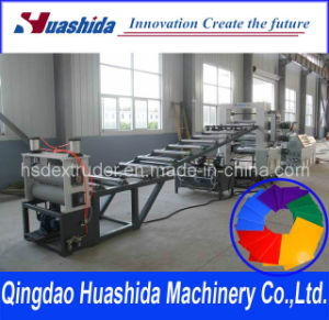 Plastic Extruder PE/PP/HIPS/ABS Production Line Sheet Extrusion Line pictures & photos