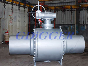 High Pressure Full Welded Ball Valve pictures & photos