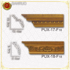 PU Foam Cornice Moulding (PUX17-F18, PUX18-F18) pictures & photos