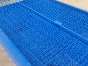 Canadan Construction Security Fence Panels 6FT X 10FT Mesh 50mm X 100mm X 3.5mm pictures & photos