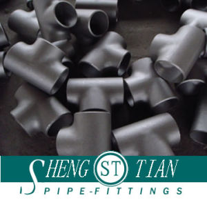 Carbon Steel Reduce Tee Pipe Fitting pictures & photos