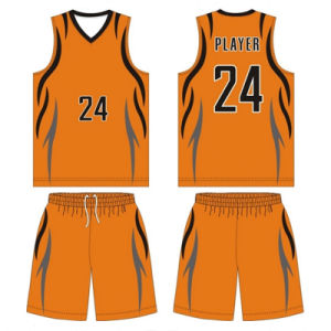 Custom Design Sublimated Basketball Wear with Mesh Fabric pictures & photos